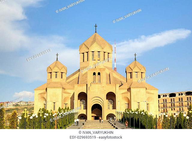 Saint Gregory the Illuminator Cathedral. Yerevan, Armenia