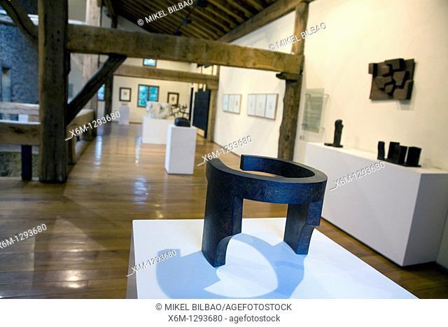works in the Zabalaga country house  Chillida Leku Museum  Hernani, Guipuzkoa, Basque Country, Spain