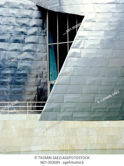 Guggenheim Museum. Bilbao. Basque Country. Spain