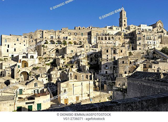 Matera, Sasso Barisano, Basilicata, Italy, Europe