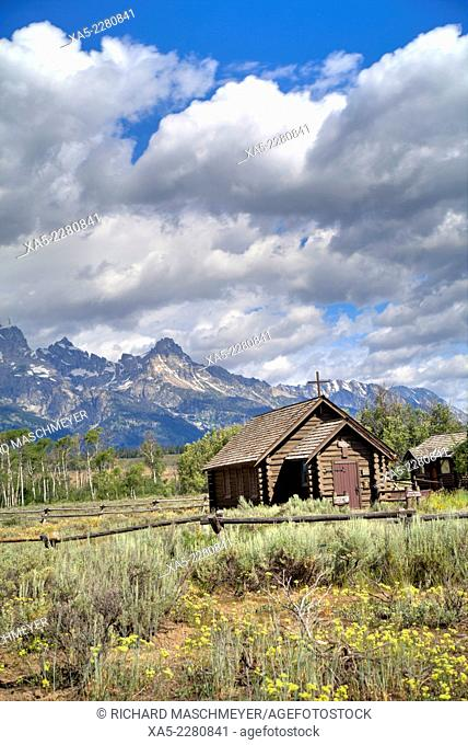 Chapel of the Transfiguration, Grand Teton National Park, Wyoming, USA