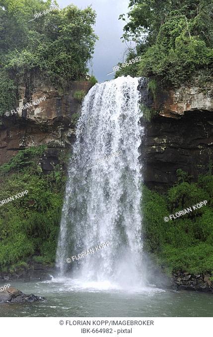 Cascade at Iguazu Waterfalls, Brazil/Argentina