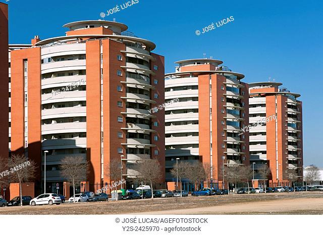 "Urbanization """"Jardines de Hercules"""", Sevilla, Region of Andalusia, Spain, Europe"