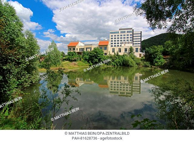 The Hasseroeder Burghotel in Wernigerode, Germany, 26 June 2016. The hotel is said to open on 1 July 2016. Over 20 million Euro are being invested in the four...