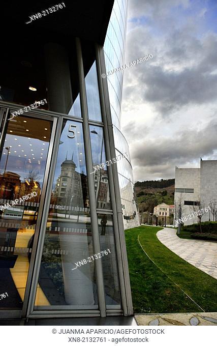 Iberdrola Tower, Bilbao, Biscay, Basque Country, Euskadi, Spain, Europe
