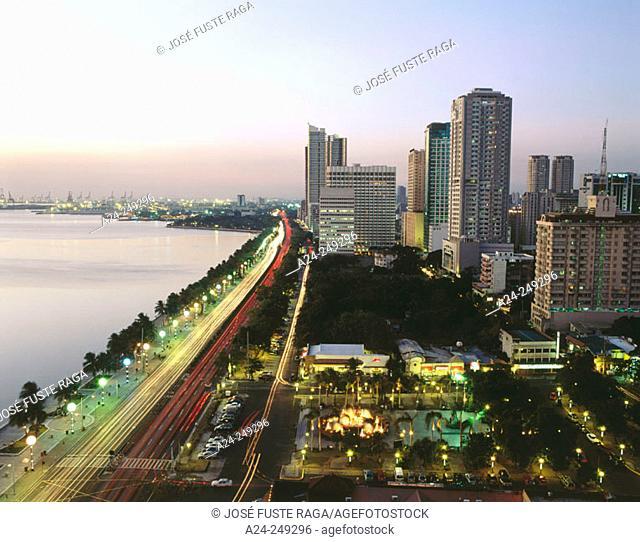 Roxas Boulevard. Ermita-Malate District. Manila. Philippines