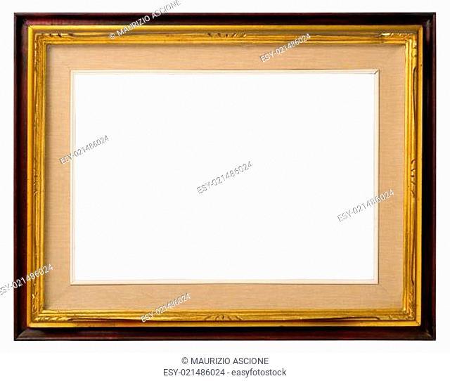 Old gilt wood frame