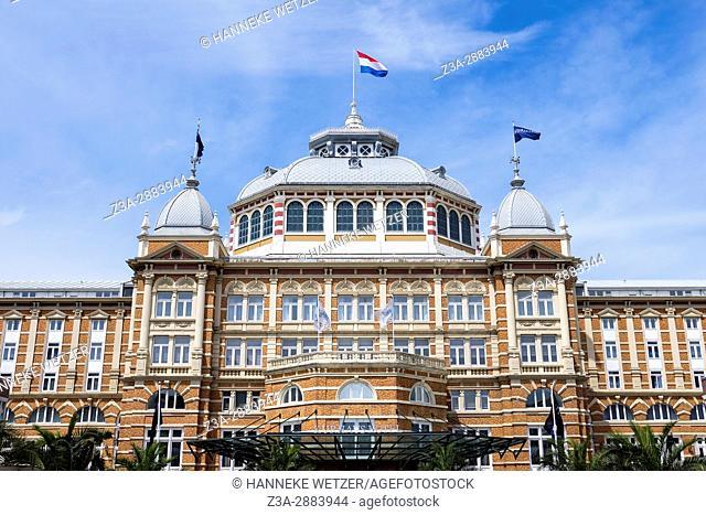 The kurhaus at Scheveningen, The Hague, The Netherlands, Europe
