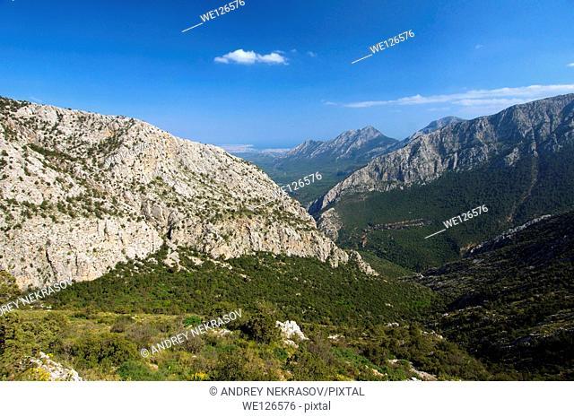 Taurus Mountain, Termesos, Turkey, Western Asia