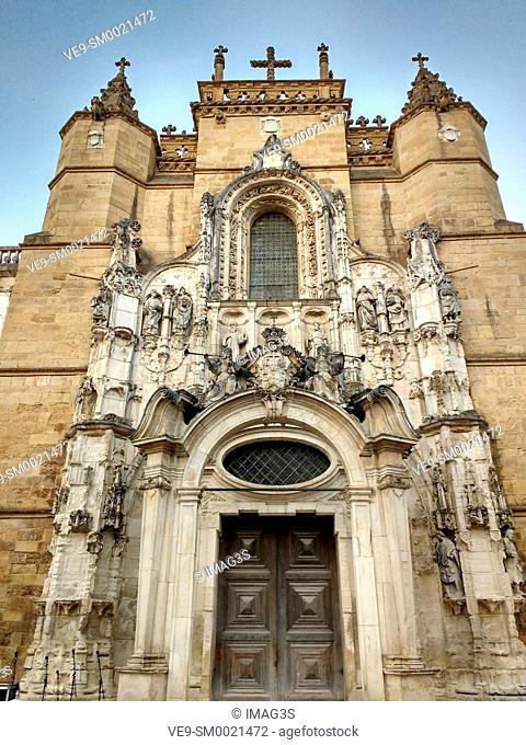 Santa Cruz church, Praça 8 de Maio, Coimbra, Portugal