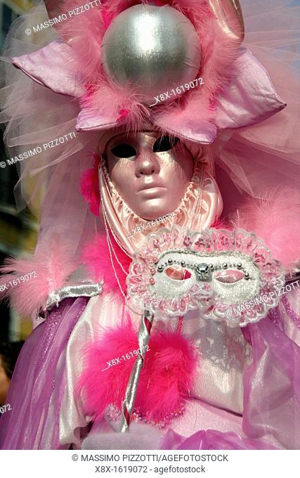 Traditional venetian masks, Venice, Italy
