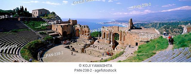 Greek Theater, Taormina, Sicilia, Italy