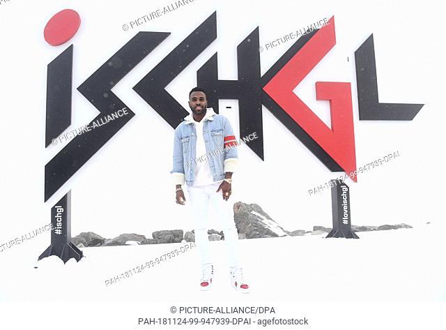 US SINGER JASON DERULO PERFORMS IN ISCHGL (11/23/2018