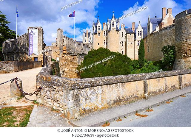 Montreuil Bellay, Castle, Maine et Loire, Pays de la Loire, Loire Valley, Saumur District, France