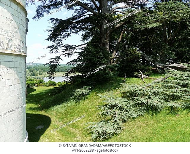 France, Centre, Loire Chateaux, Chaumont-sur-Loire castle and famous gardens festival