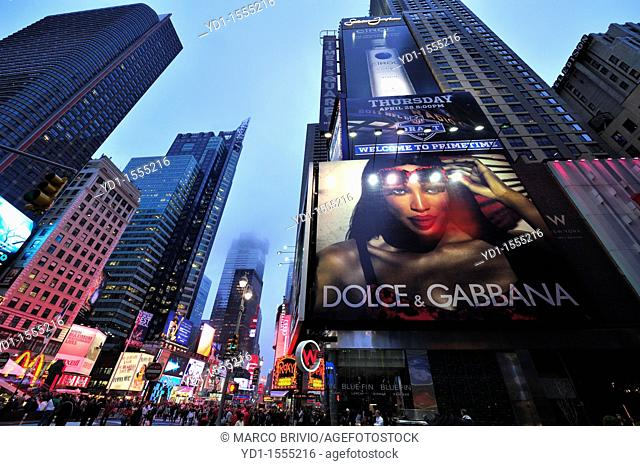 Times Square  Manhattan, New York