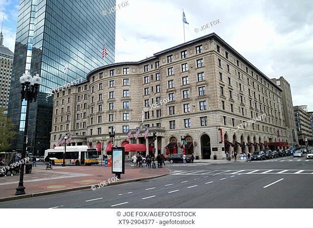 fairmont copley plaza hotel Boston USA