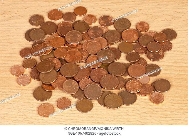Euro Cent Coins