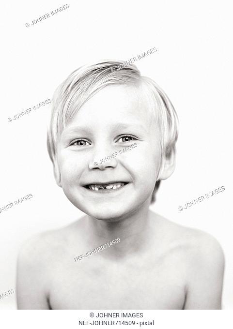 Portrait of a Swedish boy, Sweden