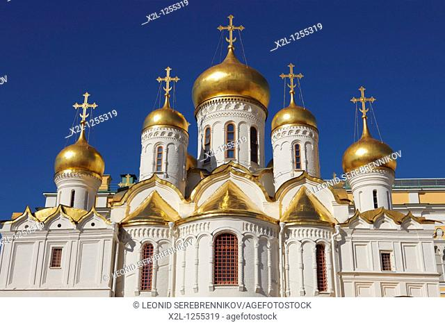 The Annunciation Cathedral  Kremlin, Moscow, Russia