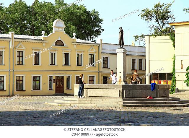 Theatre Square, Klaipeda, Lithuania
