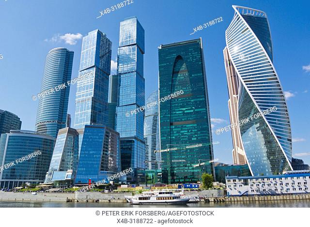 MIBC, Moscow International Business Center, Moscow City, Moscow, Russia