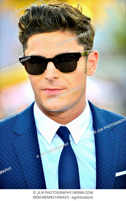 Paramount Pictures' World Premiere of 'Baywatch' on the beach in Lummus Park Ocean Drive & 7th ST. in Miami Beach Featuring: Zac Efron Where: Miami Beach