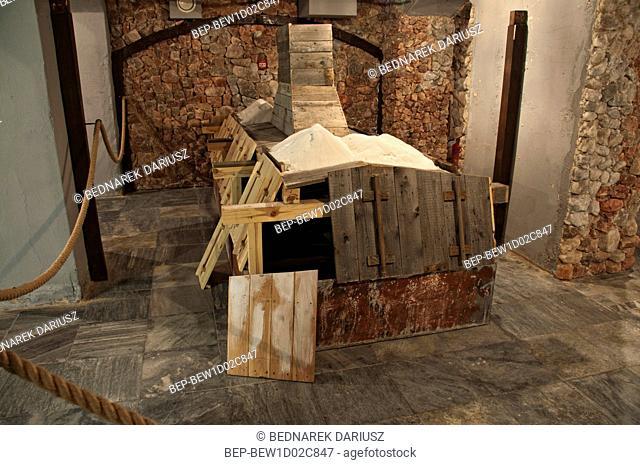 The exhibition. Inowroclaw, Kuyavian-Pomeranian Voivodeship, Poland