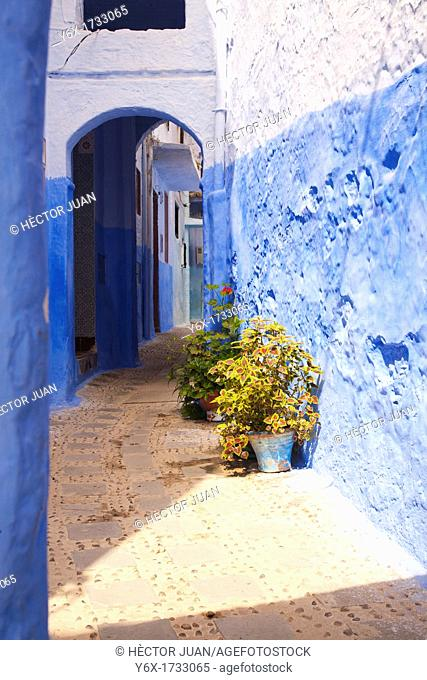 A street in Chaouen