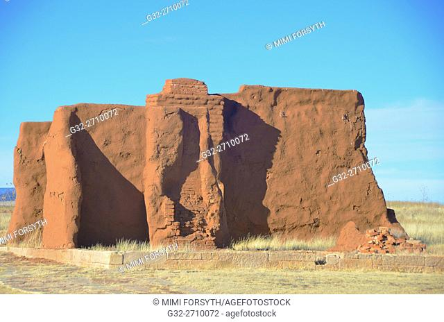 Ruin, Ft. Union, New Mexico (1850s-1890s), USA