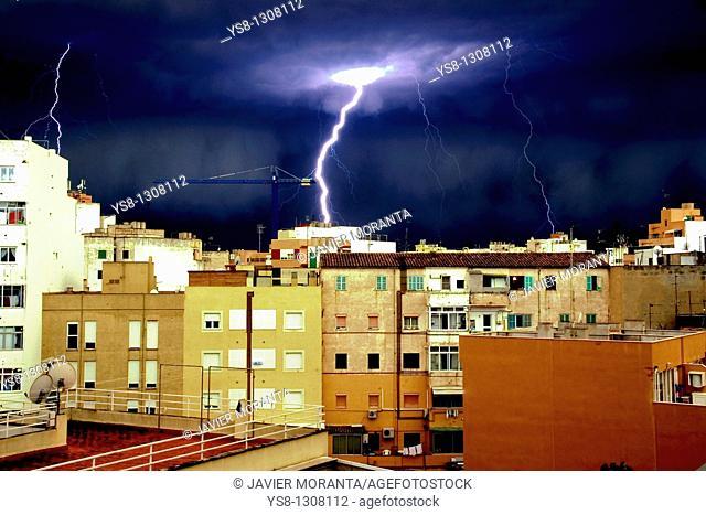 Tornado, Palma de Mallorca, Majorca, Balearic Islands, Spain