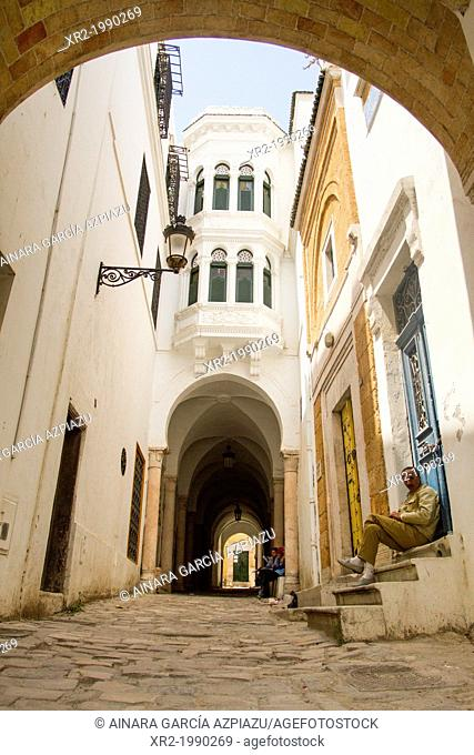 Souk in Tunisia