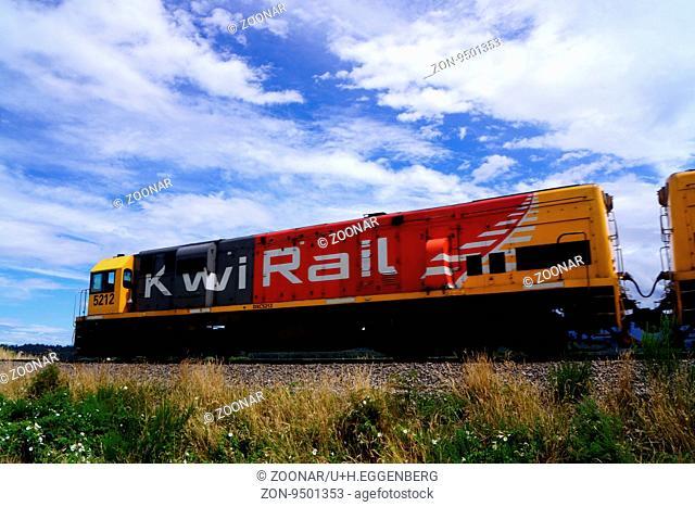 Kiwi Rail,New Zealand