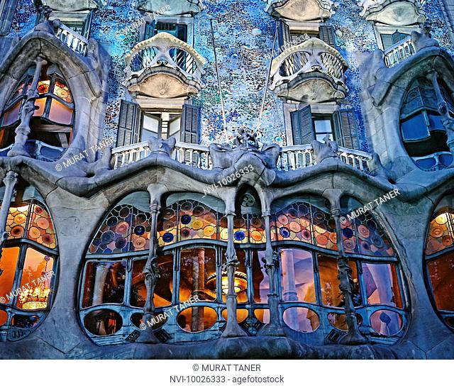 Casa Batllo. Barcelona, Spain