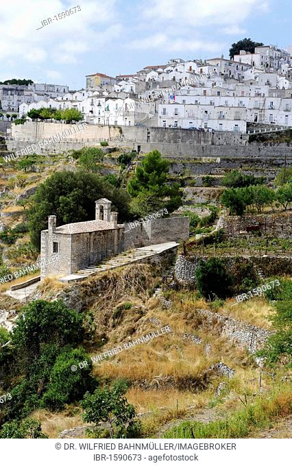Monte San Angelo Sant'Angelo, Gargano, Province Foggia, Apulia or Puglia, South Italy, Europe