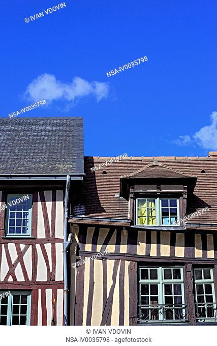 Old house, Rouen, Seine-Maritime department, Upper Normandy, France