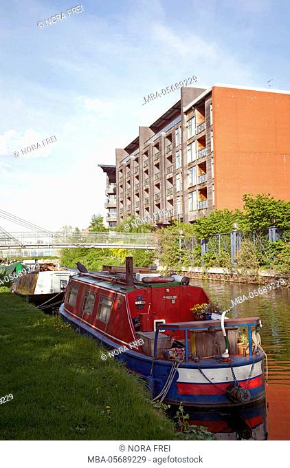 Great Britain, London, channel, boot, houseboat, waters