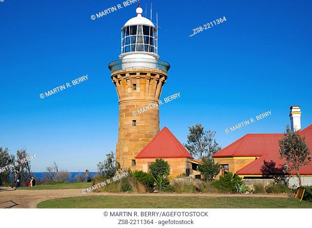 Barrenjoey Lighthouse on the headland at Palm Beach,Sydey,NSW,Australia