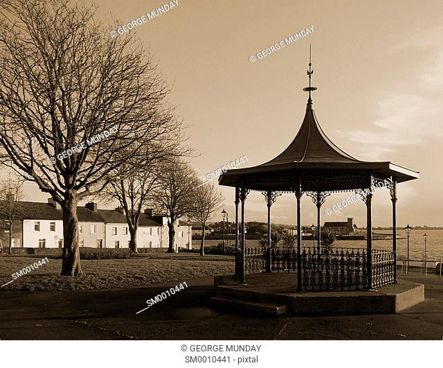The Bandstand at The Lookout, Dungarvan, County Waterford, Ireland