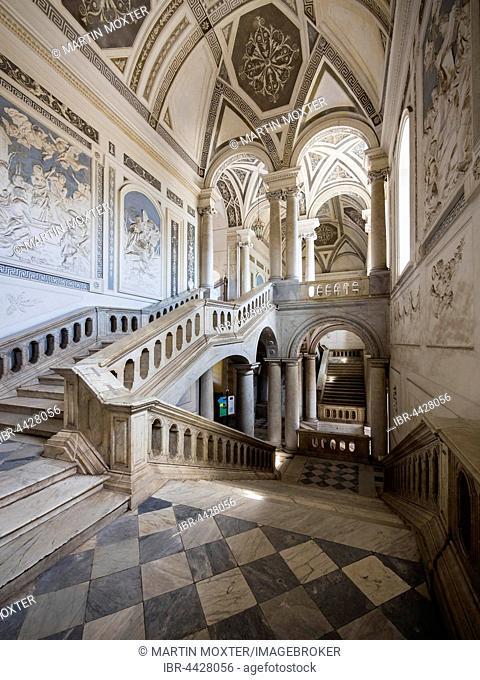 Interior, University of Catania, Sicily, Italy