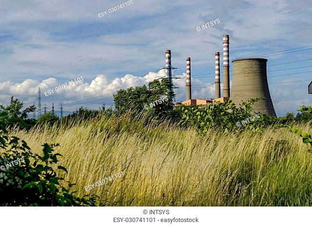 """Thermoelectric power plant """"""""Sofia Iztok"""""""", Sofia, Bulgaria"""