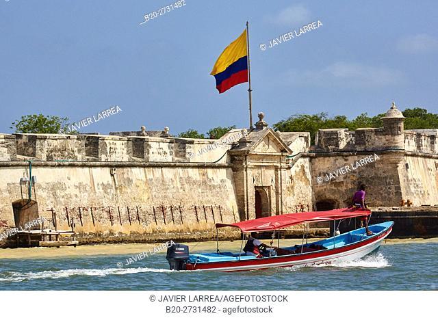 Fuerte de San Fernando de Bocachica, Cartagena de Indias, Bolivar, Colombia, South America