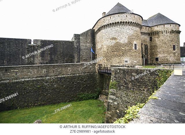 Brest Castle (Brest Chteau), Brest, Department of Finistère, Brittany, France, Europe