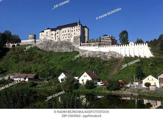 Cesky Sternberk Castle, Czech Republic, Europe