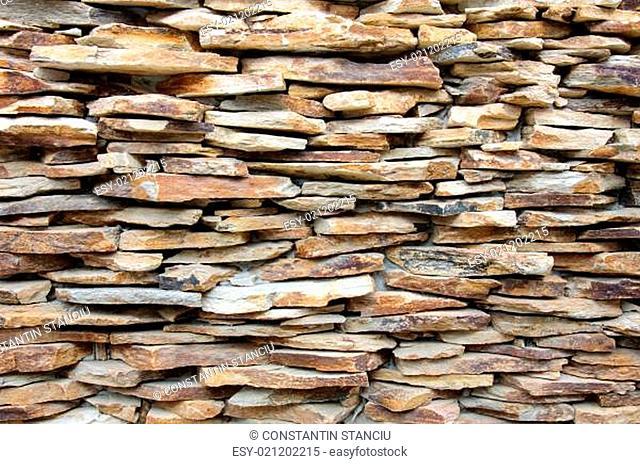 Pattern of decorative stone wall surface
