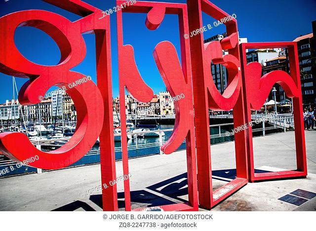 Escultura de Juan Jareño para Gijón, Spain
