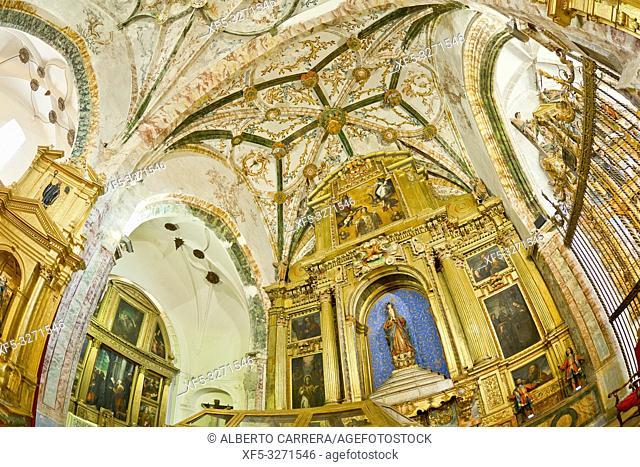 Church-Museum of San Antolin, 16th Century, Tordesillas, Valladolid, Castilla y León, Spain, Europe