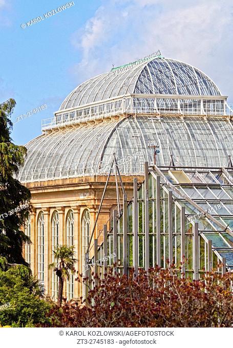 UK, Scotland, Lothian, Edinburgh, View of the Royal Botanic Gardens.