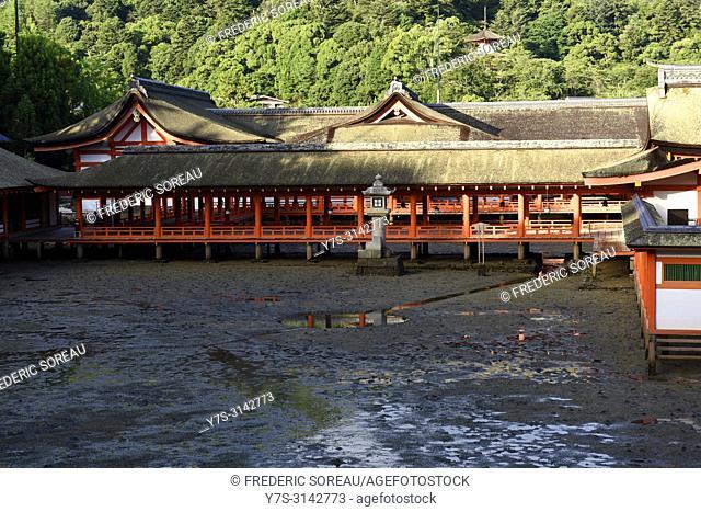 Itsukushima Shrine in Miyajima island,Japan