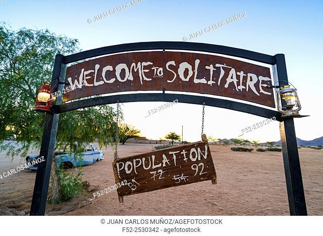Solitaire, Namib Naukluft National Park, Namibia, Africa